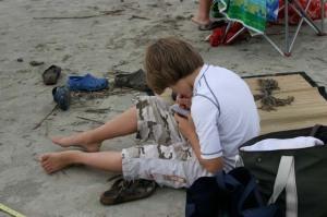 AV - figuring out low tide's feet