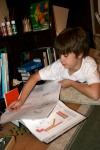 JV writing more on his cell project